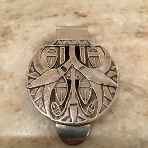 Mexican Sterling Money Clip